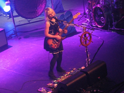 Joy Formidable's Ritzy Bryan @ Terminal 5